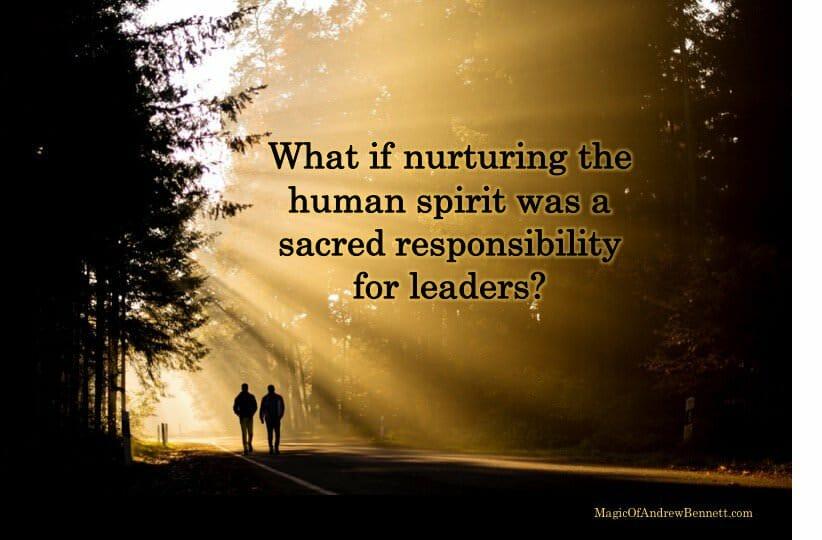 nurturing human spirit